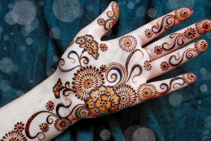 58 Simple Mehndi Designs that are Awesome \u0026 Super Easy to