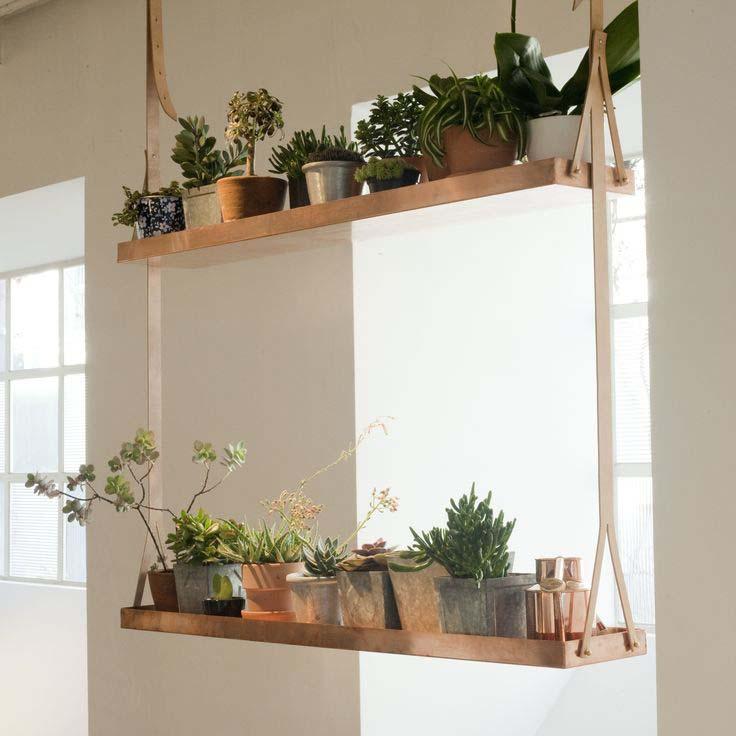 Swing Type Wooden Hanging Planters