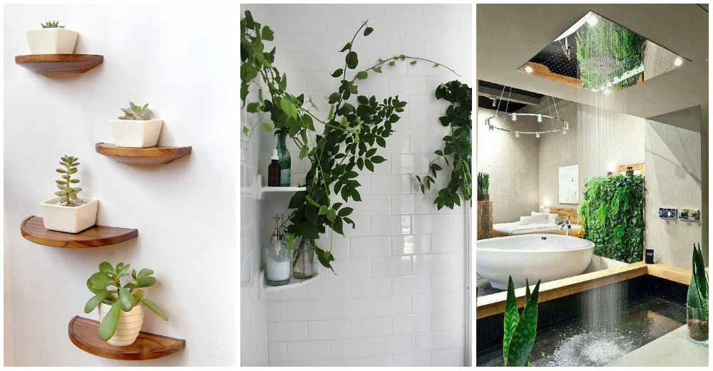 Indoor Artificial Plants Are Ideal For Decorating Your Bathrooms As Well.  You Can Place Them Over The Toilet Or Laundry. Otherwise, Keep Them At A  Quaint ...