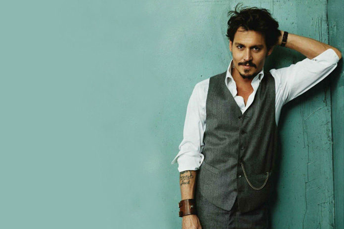 johnny depp hairstyle