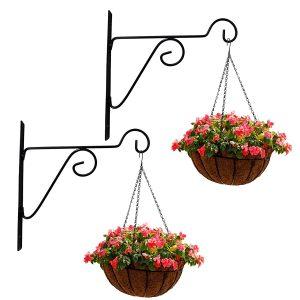 leafy plant hangers for flower pots