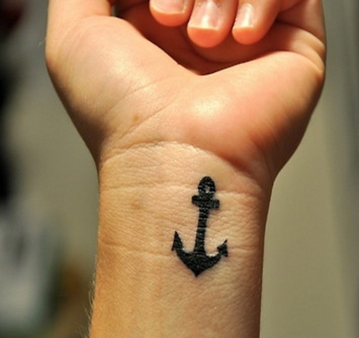 Small Tattoo Ideas For Men And Women An Anchor
