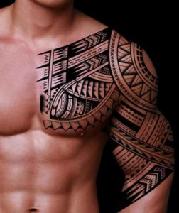 Armored Sleeve Tattoo