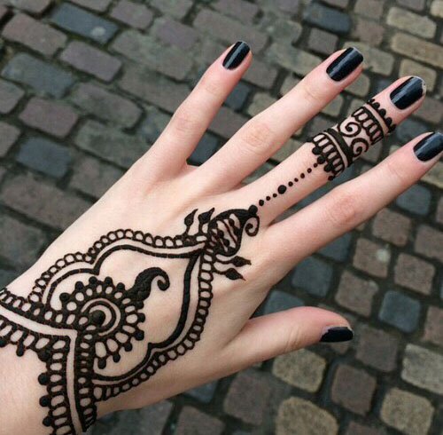 Top 25 Best Simple Mehndi Designs That You Can Try By Yourself Folder,Full Tribal Sleeve Tattoo Designs