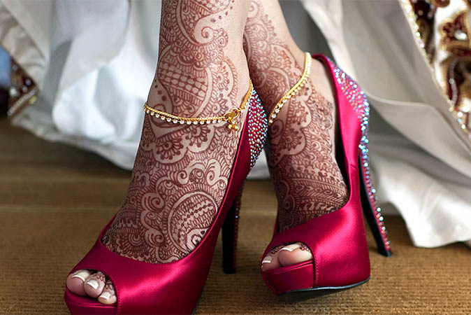 Bridal Mehndi On Foot : Arabic bridal mehndi designs to try livinghours