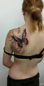 Big Butterfly Tattoo