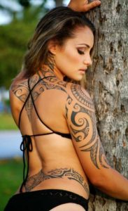 Celtic Body Tattoos for Women
