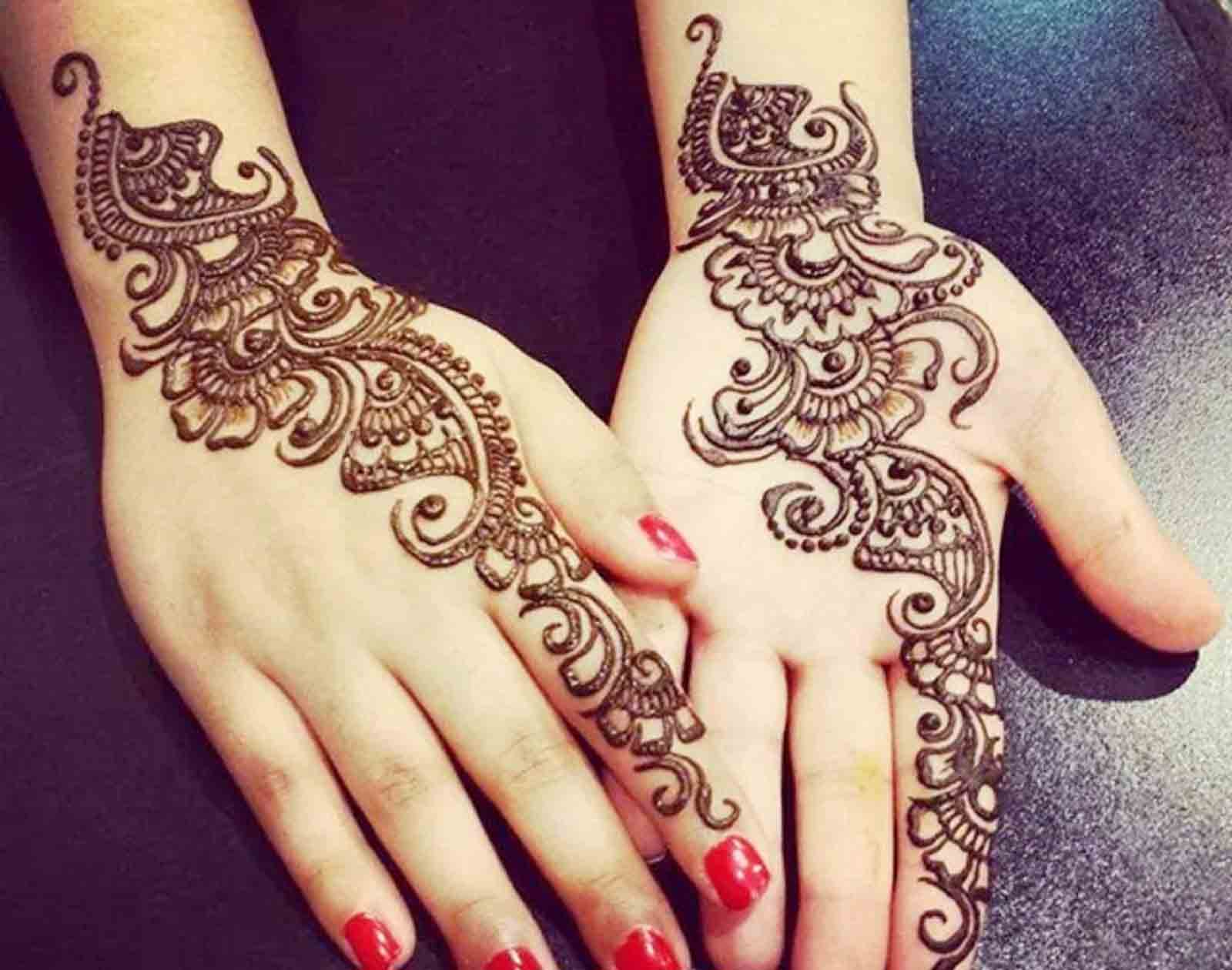 The best mehndi designs for hands livinghours - Decorative Arabic Mehandi Designs
