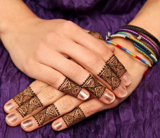 Mehndi Designs for Fingers