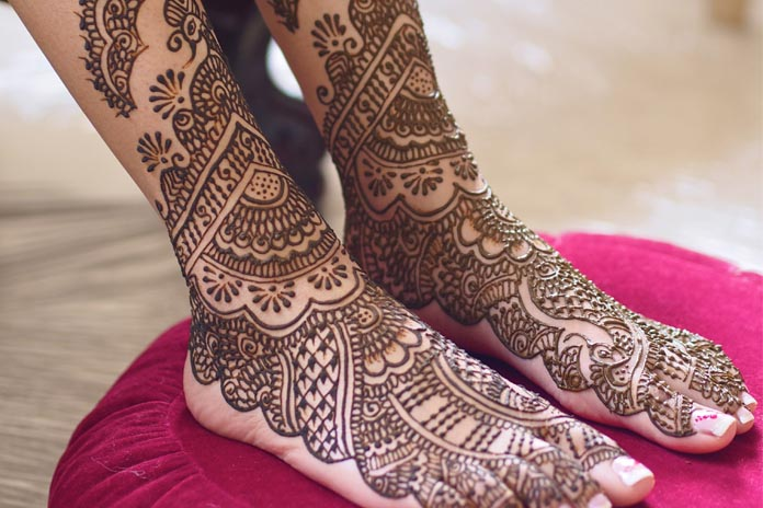 Mehndi Designs For Feet : Foot mehndi designs for beautiful feet livinghours