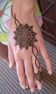 Intrinsic Floral Mandala