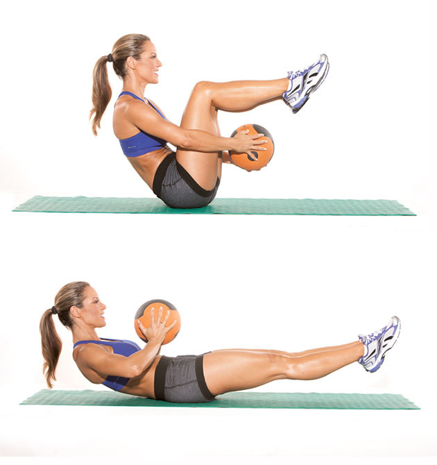 Medicine Ball Sit-UP
