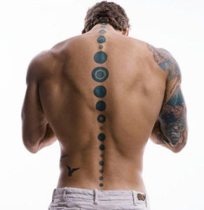 Men Back Tattoos
