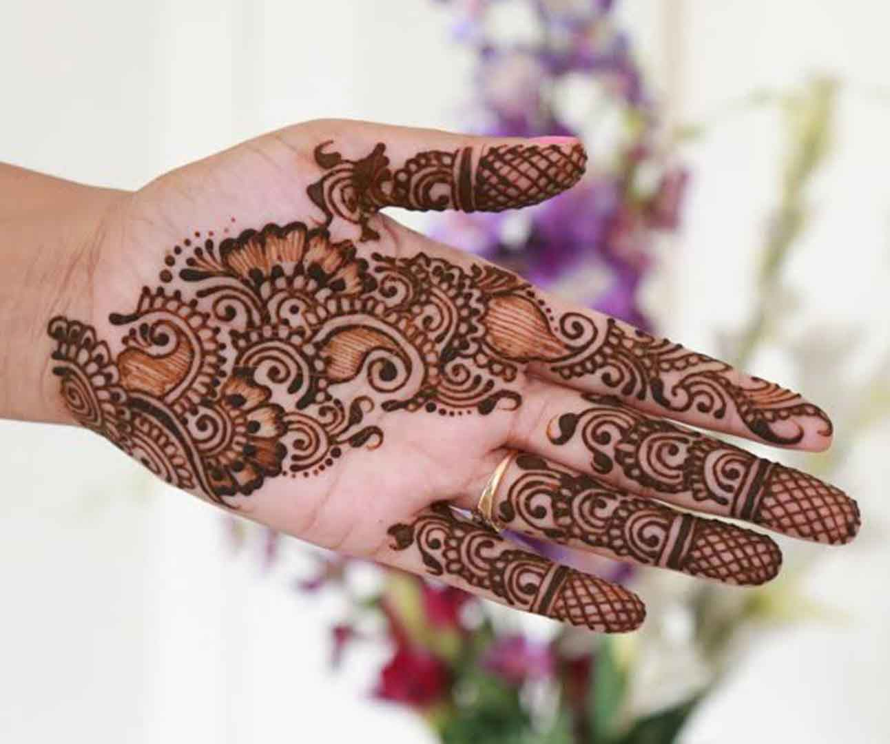 The best mehndi designs for hands livinghours - Perfect Mehndi Design For Palms