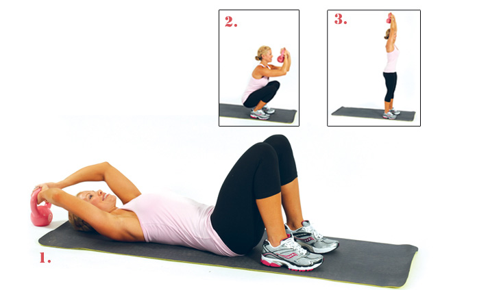Sit-UP TO Standing