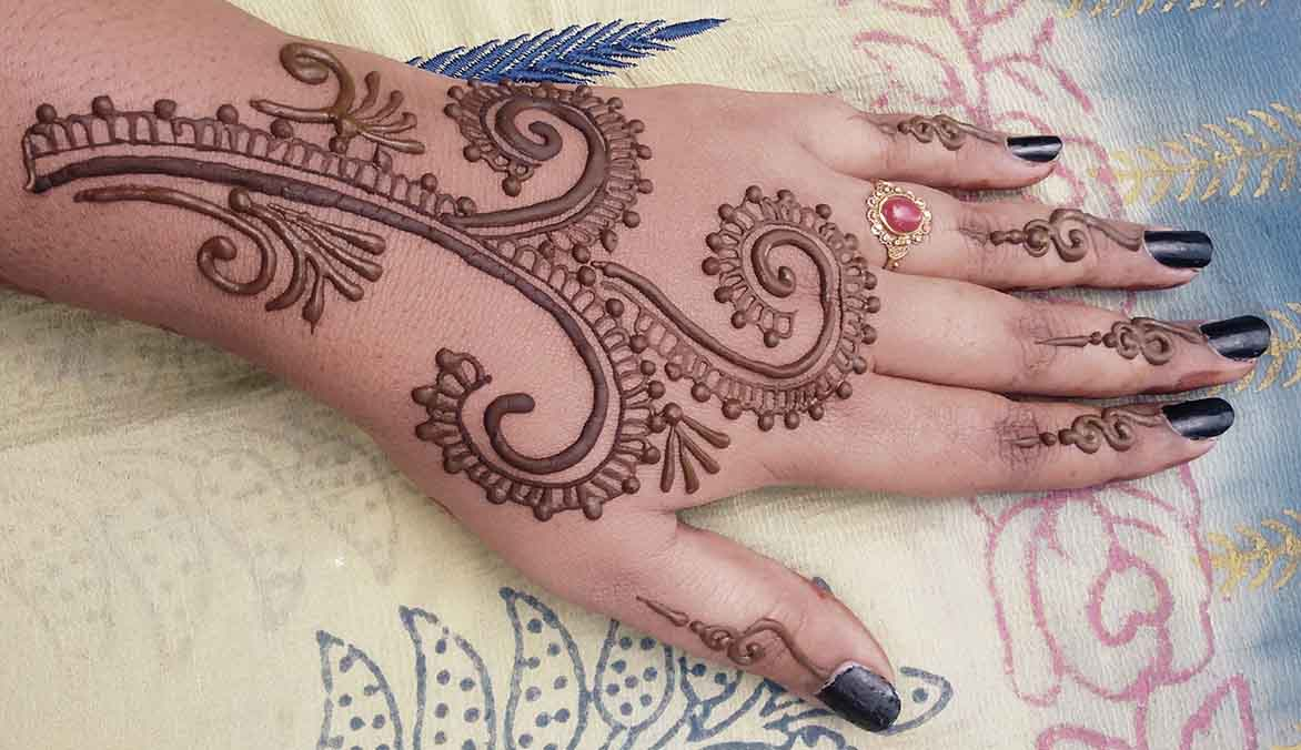 The best mehndi designs for hands livinghours - The Branch Look