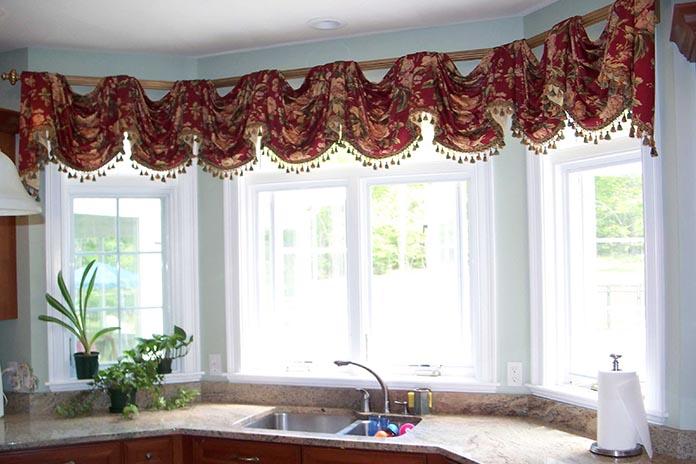 Cute Kitchen Window Treatment Ideas Design Ideas
