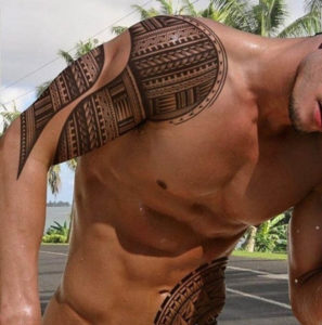 Tribal Polynesian Tattoo