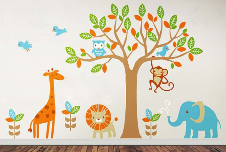 Chose The Wall Decals Smartly Part 78