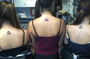 3 sister tattoo