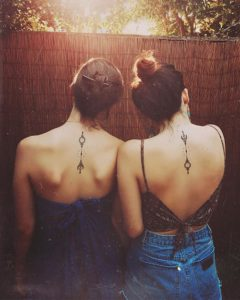 Cool Sister Tattoos