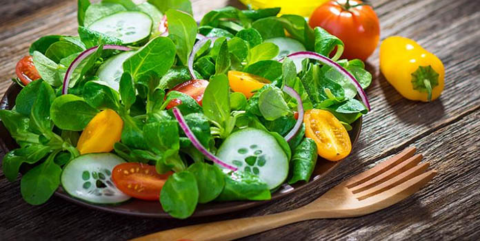 LEAFY GREEN VEGETABLE SALAD