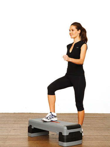 You will need a step-up bar or a stool of height less than 6 inches for this exercise. Step up the bar by placing your one feet on the stool and raise ...  sc 1 st  Living Hours & Top 15 Knee Strengthening Exercises And How To Do Them islam-shia.org