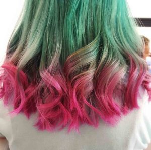The Watermelon Hair Color