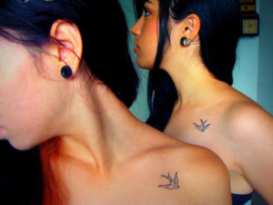 bird sister tattoo