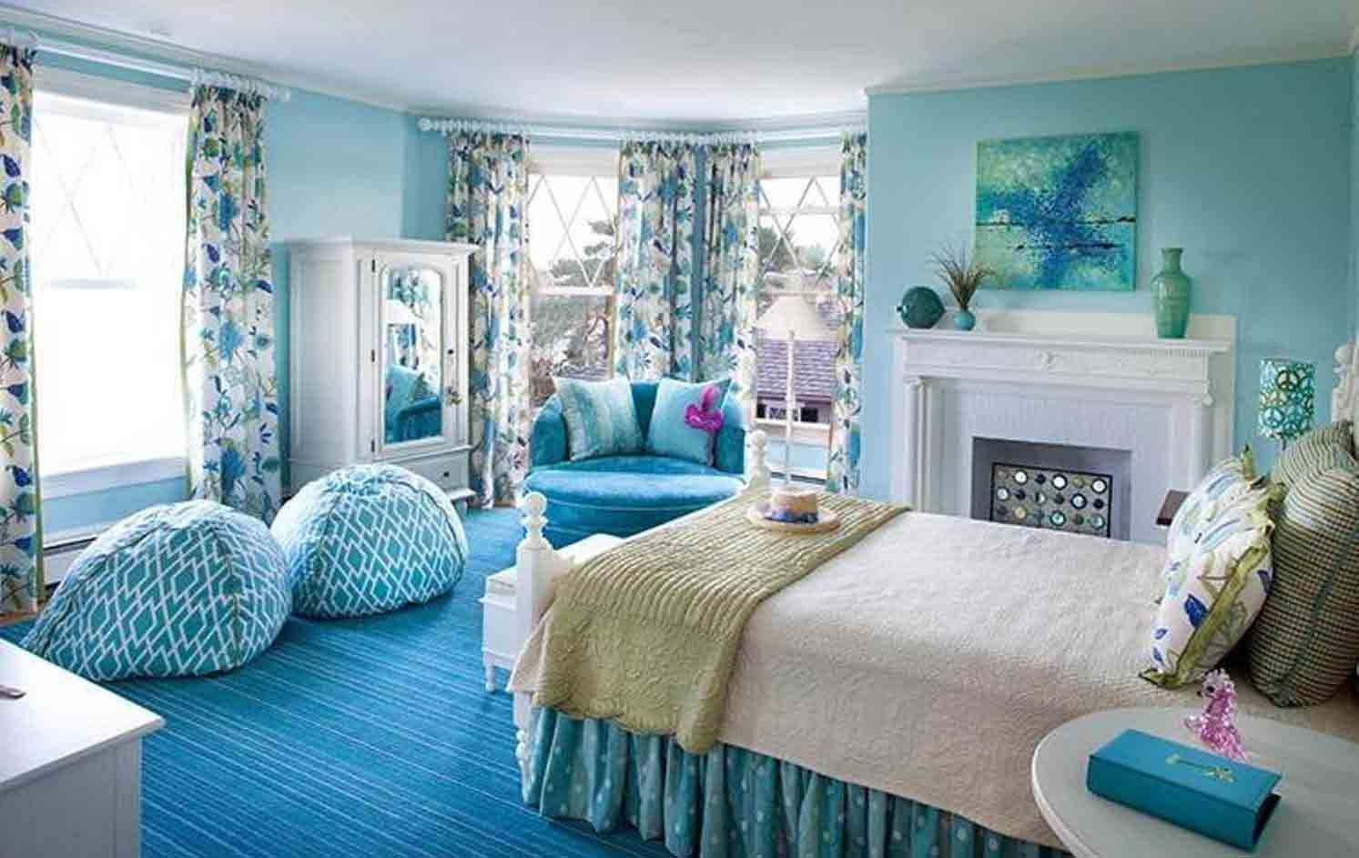 Awesome Ocean Beach Style Bedroom
