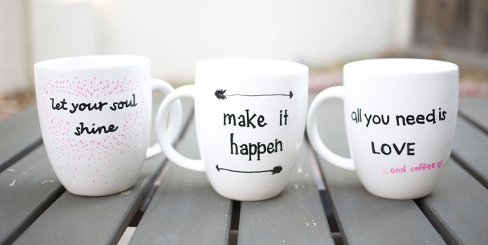Coffee Mug with Quote