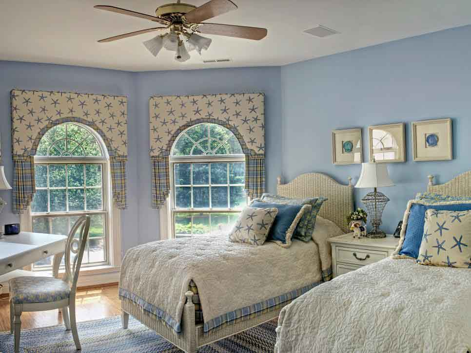 Countryside Beach Themed Bedroom