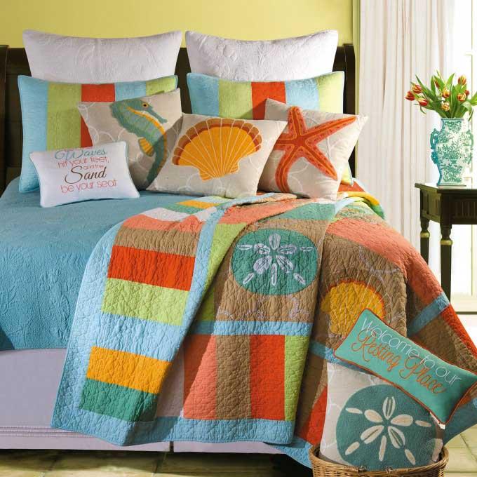 Creative Beach Decor For Bedroom