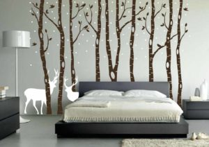 forest-bedroom-wallpaper-idea