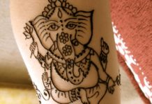 Ganesh Mehndi Designs