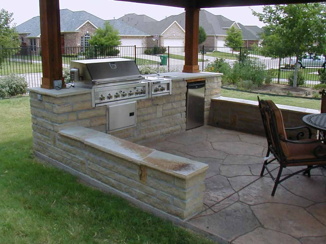Simple Outdoor Kitchen Beautiful Outdoor Kitchen Ideas Which Are Pure Inspiration