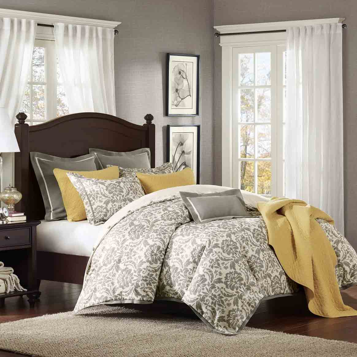yellow bedroom furniture. Gorgeous Grey And Yellow Bedroom Furniture