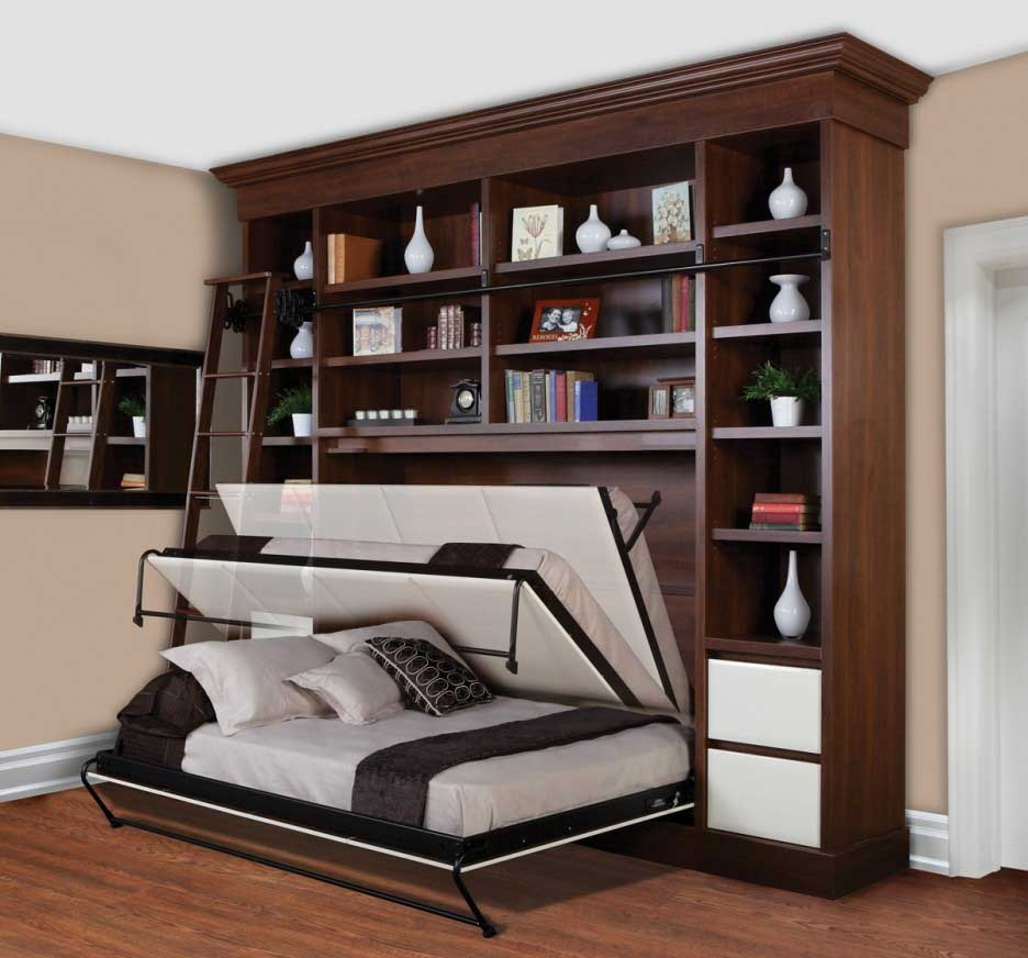 Handy Guest Bedroom Storage