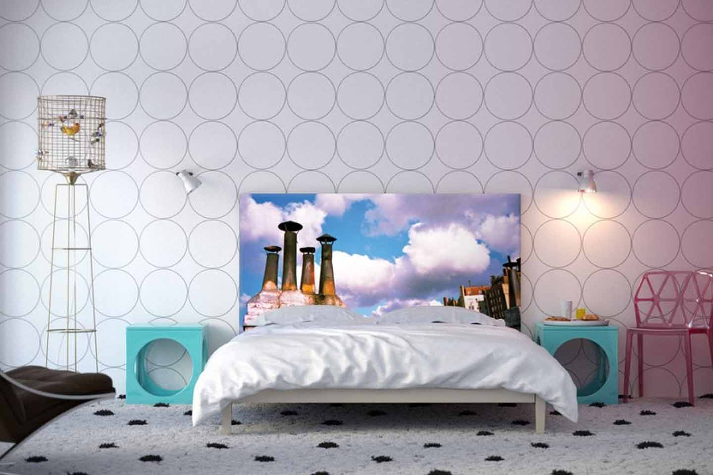 Lovely Imaginative Wallpaper For Bedroom