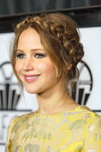 jennifer-lawrence-crowned-braid-hairstyle
