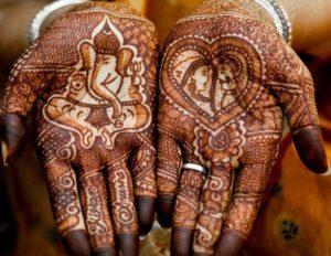 Lovely Ganesh Mehndi Design