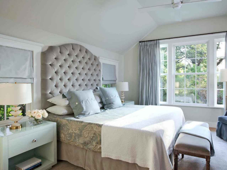 Peaceful Grey Bedroom