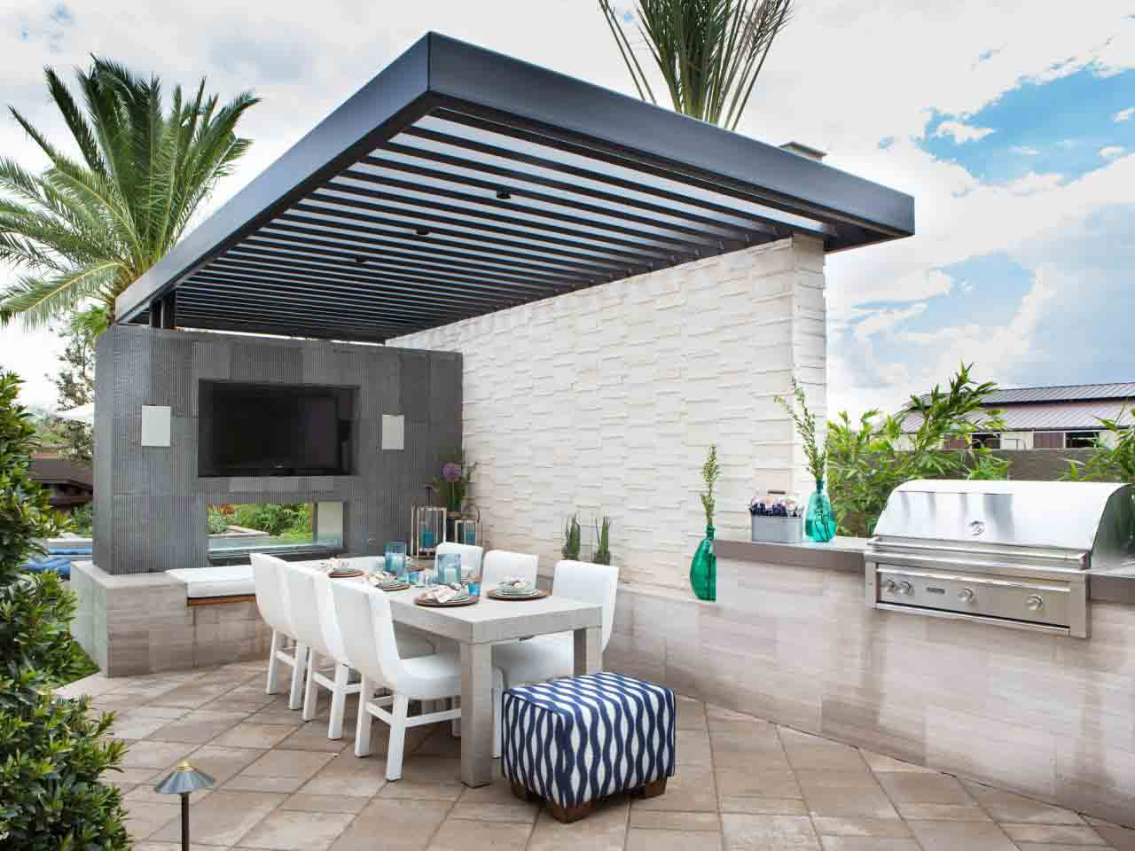 Beautiful Outdoor Kitchen Ideas Which Are Pure Inspiration | LivingHours