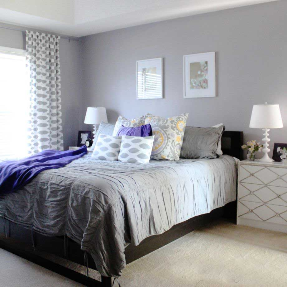 Purple Bedroom Colors 20 Exciting Grey Bedroom Ideas For Having A Beautiful Bedroom
