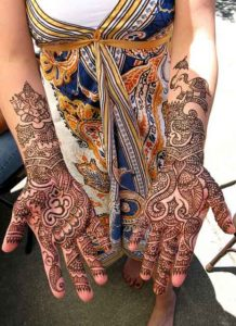 Traditional Ganesh Mehndi Design