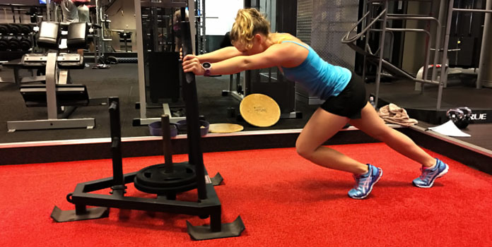 weighted-sled-push