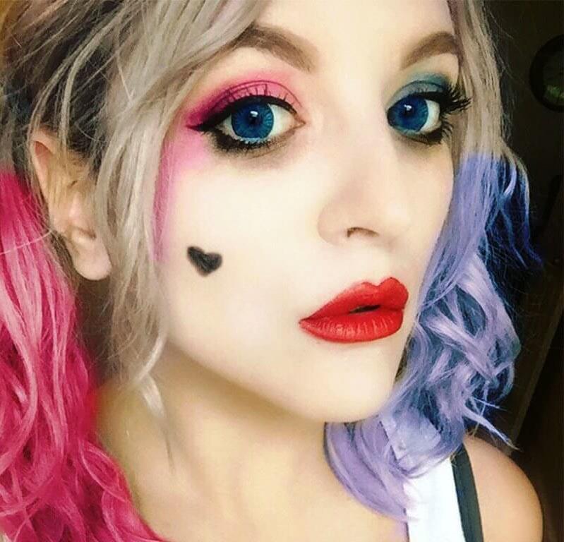 OMG! Try These Cute Halloween Makeup Ideas LivingHours - Sweet Halloween Makeup