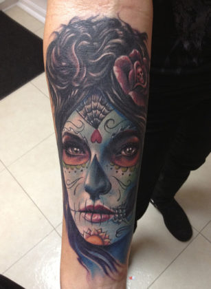 Day of the Dead Tattoos 3
