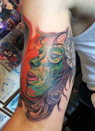 Day of the Dead Tattoos 8
