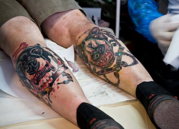 Day of the Dead Tattoos 11